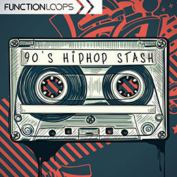 90's Hip-Hop Stash - 90's Style Vinyl Beats Samples, Loops