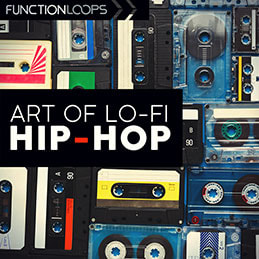 Art of Lo-Fi Hip Hop - Royalty Free Drum Loops, Kicks, Percussion